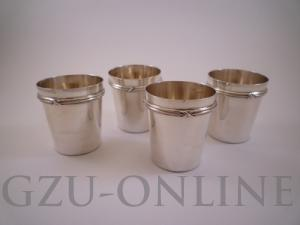 4 950/1000 zilver wijnproefbekers Puiforcat