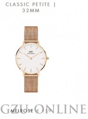 een dameshorloge Daniel Wellington