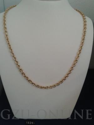 een 585 geelgouden collier