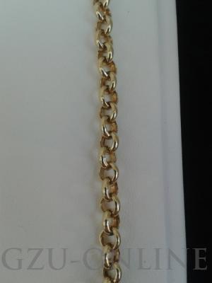 een Goud met zilveren kern armband Fjory