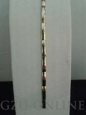 een 585 geelgouden armband