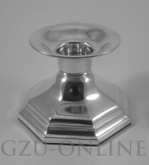een 835 zilveren   kandelaar - Occasion zilver