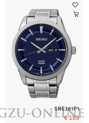 een herenhorloge Seiko