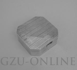 een 925 zilveren  pillendoos - Antiek zilver