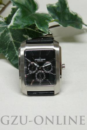 een  edelstaal herenhorloge Jacques Lemans