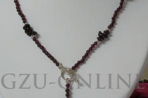 een 925 zilveren collier - Handgemaakte sieraden