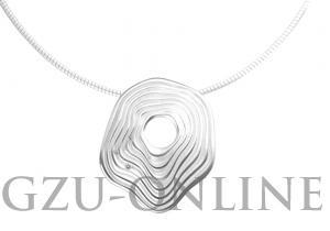 een zilver 925 zilveren  hanger Quinn