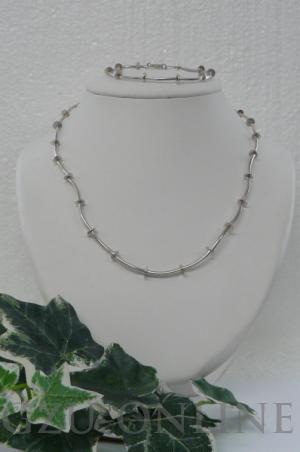 een 925 925 zilveren  collier
